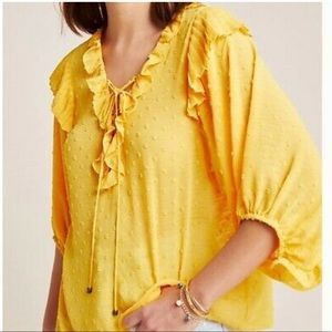 Anthropologie blouse excellent condition